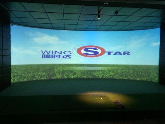 绍兴上虞环屏模拟高尔夫展厅