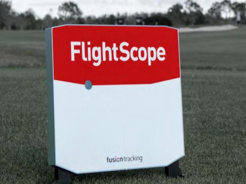 FlightScope X3雷达感应器E6软件模拟高尔夫